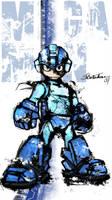 Mega Man by hale550