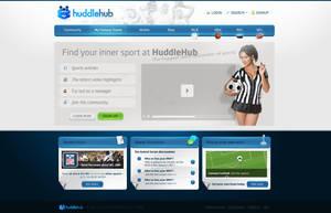 HuddleHub Layout by ejsing