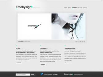Freakysign - Design Studio by ejsing