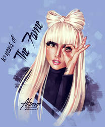 10 Years of The Fame by Monika2001
