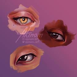 Eye Study by Monika2001