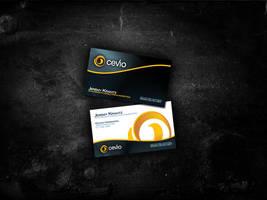 CEVIO - Business Cards by www.jkarabagli.com by j4yzk