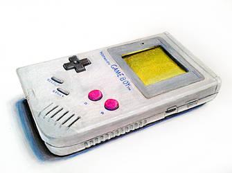 Nintendo Game Boy by UnmaskArt