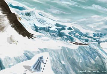 Frozen Canyon by bagoh2
