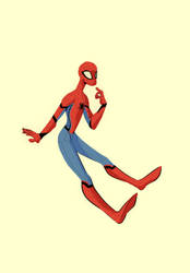 spiderman spiderman does whatever the spider can by Hordverd