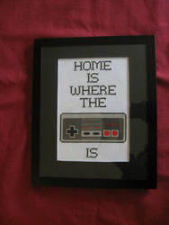 Home is Where the Nintendo Is by almalovesya