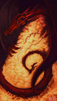 Smaug the Magnificent by 89ravenclaw