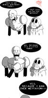 Papyrus's worst birthday by LotusTheKat