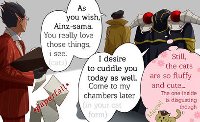Ainz and Pandora's Actor by Viperys