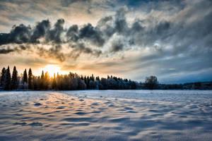 Sunset by valkeeja