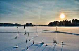 Winterlake by valkeeja