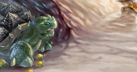 Tortolla by TurtleSerpent