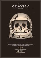 Gravity alternative movie poster art by harijz