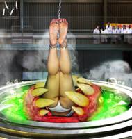Alexia's Biohazard Experiment by MightyMorphian