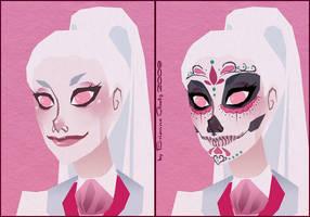 Sugar Skull by brianne333