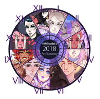 2018 Summary of Art by mintysoup