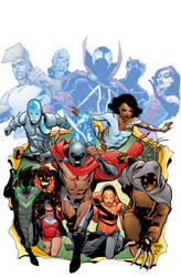 Secret Identities cover by thatron