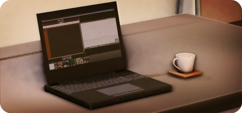 - a mmd table by KuMarry