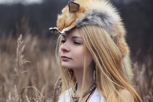 fox-shaman by TR-ElVienta