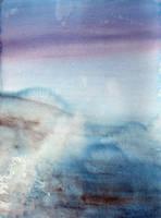 Winter Beach by JudLorin