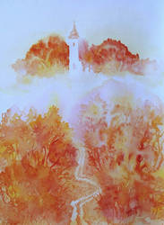 Church of Fog by JudLorin