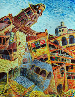 City of Miro by JudLorin