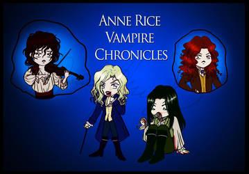 Anne Rice Vamp Chibis by Orochimaru666