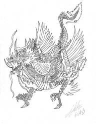 dragon by iHARTmarlynmanson