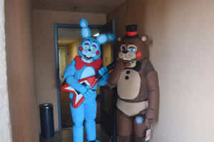 Toy Animatronic Cosplays FINISHED! by Andiiiematronic