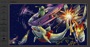 .:EPIC SHARK EXPLOSION:. by madmen