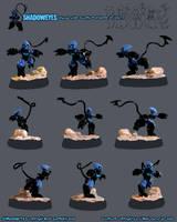 .:SHADOWEYES sculpture:. by madmen
