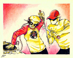 .:STRIFE AND SCRATCH:. by madmen