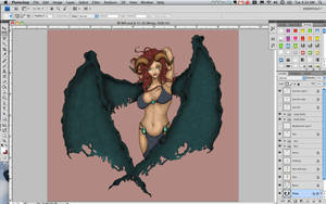 Succubus - In Progress 2 by AliceGraphix