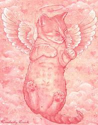 Cute Angel Kitten of Love by enchantedgal