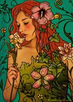 Spirit of Summer Flowers by enchantedgal
