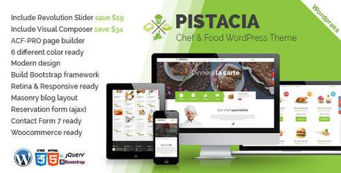 Pistacia Food And Restaurant WordPress Theme by Pistaciatheme