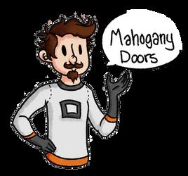 Sjin - Mahogany Doors by KqKangaroo
