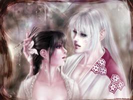 Sesshou, Kag: Intimacy- Final by Technoelfie