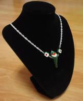 Handroll necklace by Koreena
