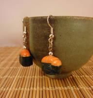 Uni maki earrings by Koreena
