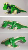 Green dragon by Koreena