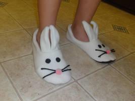 Bunny slippers by Koreena