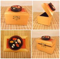 Sushi Trinket Box 2 by Koreena