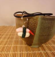 Sweet Shrimp necklace by Koreena