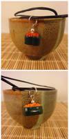Gunkan maki necklaces by Koreena