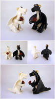 Wedding Dragons by Koreena