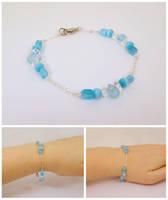 Ice Princess bracelet 2 by Koreena