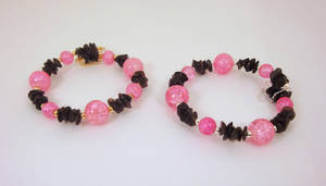 Ecto and Obby Shard bracelets by Koreena