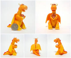 Flame dragon by Koreena