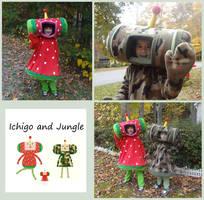 Ichigo and Jungle by Koreena